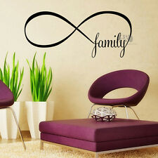 FAMILY Quote Words Mural Removable Wall Stickers Art Vinyl Decal Room Home Decor