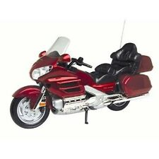 Diecast 1:18 Honda Gold Wing Motorcycle Red MotorMax Model Die Cast Bike