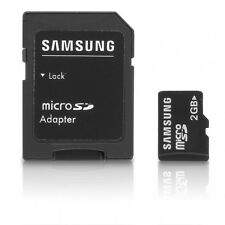 Sandisk/ Branded 2GB Micro SD Memory Card with SD Adaptor & 2.0 USB Reader