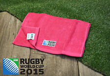 Rugby World Cup 2015 Christy Sports Quick Dry Gym Towel Pink 40 x 90cm