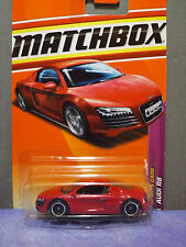 2011 MATCHBOX Special Custom AUDI R8 with Hot Wheels Real Riders