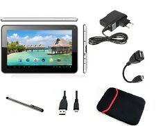 9'' ZOLL TABLET PC ANDROID 4.4.4 QUAD CORE WIFI MULTITOUCH 8 GB KAPAZITIV USB SD