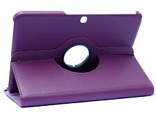 "360° SAMSUNG GALAXY TAB4 10.1"" T530/T531/T535 LILA HÜLLE TASCHE COVER CASE"