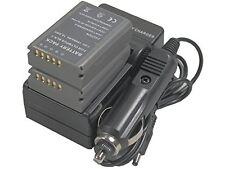 new 2pcs BLN-1 Battery + Charger for OMD E-M5 EM5 M-5 M5 E-M1 EM1 E-P5 EP5 BLN1