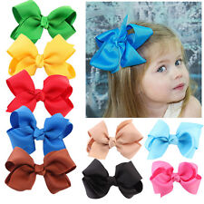 20pcs Handmade Bow Hair Clip Alligator Clips Girls Ribbon Kids Hair Accessories