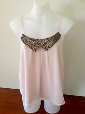 ally Ladies Shoestring Top Size S