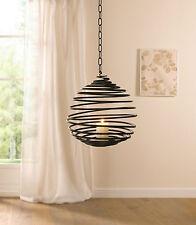 Hänge-Windlicht Windlichthänger Kerzenhalter Teelichthalter Laterne Metall Deko