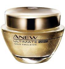 Avon **Anew Ultimate 7S Gold-Emulsion für die Nacht** 50ml   Super Preis