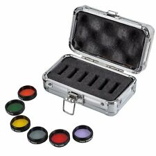 1.25'' 31.7mm Eyepiece Kit Colored Filters+Moon&Skyglow Filter for Telescope Hot