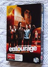 ENTOURAGE- THE COMPLETE FIRST SEASON (DVD, 2-DISC BOX SET) REGION-4, LIKE NEW