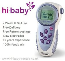 ELLE MATERNITY TENS MACHINE FOR LABOUR WITH NEW ELECTRODE PADS-7 WEEK HIRE/RENT