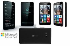 BRAND NEW NOKIA LUMIA 640 BLACK*4G LTE* WINDOWS 8 SMARTPHONE *Unlocked* 8Gb