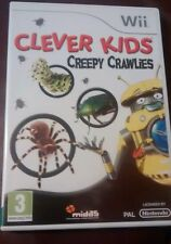 Clever Kids: Creepy Crawlies (Nintendo Wii, 2009)