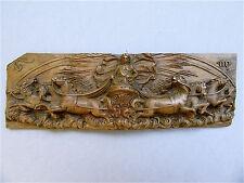 Barock Relief Holz Apollon Helios Apollo Apoll Sonnenwagen  17. / 18. Jh Phaeton