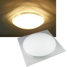 moderne Deckenleuchte aus Glas 29x29x9cm  230Volt, E27 max.60W / Deckenlampe