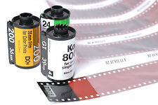 35mm C41 Colour Black & White Film Developing onto Disk/USB