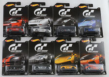 2016 GT Gran Turismo Set 8 pcs GT-R GT LM Pagani Viper LP 700 1:64 Hot wheels