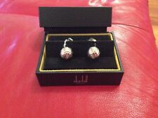 Dunhill Sterling Silver (stamped) Cufflinks