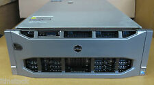 Dell PowerEdge R910 40XEON Cores 4x 10 Core E7-8867L 512GB RAM Rack Mount Server