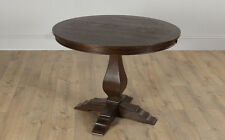 Cavendish Round Dark Wood Dining Table - 100cm