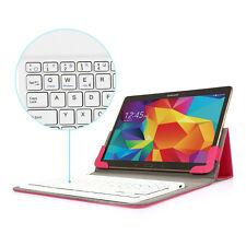 """Universal Schutz Hülle mit Bluetooth QWERTZ Tastatur für 9.7""""- 10.1"""" Tablet rosa"""