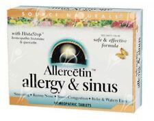 Source Naturals Allercetin Allergie & Sinus x48tabs