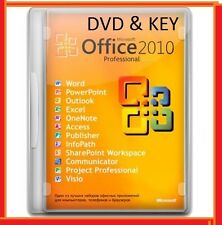 Office 2010 Professional 32 & 64 Bit DVD + Licence Key + Pro Excel Genuine Word