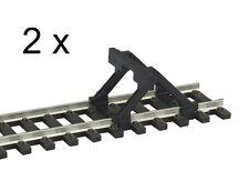 PIKO 55280 H0 2x Prellbock mit Holzbohlen, A-Gleis *NEU & OVP*