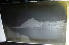 Lot49 - 1890s CRICCIETH - VICTORIAN BEACH VIEW - PHOTO Glass Negative