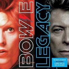 DAVID BOWIE LEGACY CD (Very Best Of) (New Release 2016)