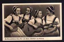 112516 Satzung Fotokarte Heimatdichterin Luise Pinc mit ihrem Kleblatt Musik Git