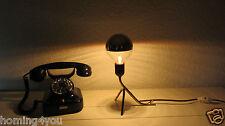 Krähenfuß Tisch Leuchte Mid Century Messing Lampe Vintage 50er Jahre