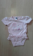 Girls M&Co Pink Mouse Bodysuit - Age 0 - 3 mths