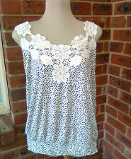 CROCHET PANEL TOP SIZE XL FREE GIFT