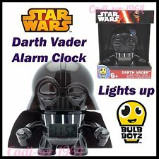 Bulb Botz Star Wars Darth Vader Alarm Clock Character BulbBotz Light Up Clock