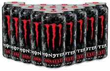 Monster Assault Energy Drink 500ml Pack of 12 Cans