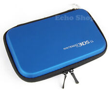 Blue EVA Hard Protect Case For NITENDO 3DS XL LL Console With Game Holders