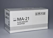 Nikon MA-21 Single Slide Film Adapter for ALL Coolscan Scanners