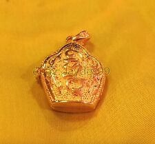 PRAYER GHAU BOX TIBET 18K GOLD PENDANT SILVERANDSOUL HANDCRAFTED JEWELLERY GAU
