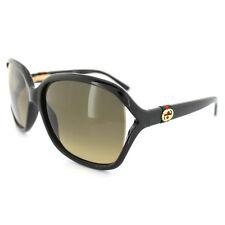 Gucci Sunglasses 3646 D28 ED Black Brown