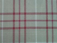4.00m Laura Ashley 'Keynes' in Cranberry Upholstery Fabric