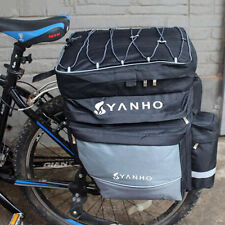 Waterproof Bike Rear Seat Bag Bicycle Saddle Pannier Cycling Luggage Pouch Case
