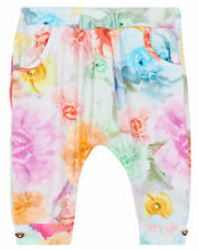 Ted Baker Baby Girls Harem Trousers Bottoms Floral Newborn Gift 0-3 Months