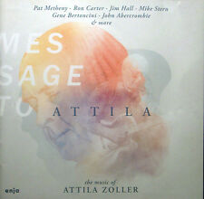 CD ATTILA ZOLLER - message to, the music of