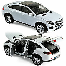 Mercedes-Benz GLE Coupe C292 - 2015-17 weiß white 1:18 Norev