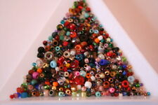 Toho mixed seed bead sweepings.Wholesale, job lot approx 600 beads.