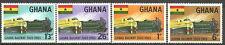 Ghana - 60 Jahre Eisenbahn Satz postfrisch 1963  Mi.Nr. 162-165