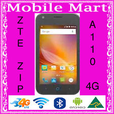 "UNLOCKED◉ZTE ZIP BLADE A110◉3G 4G LTE◉QUAD CORE 1 GHz◉ANDROID 5.1◉4""◉DUAL CAMERA"