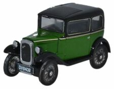 Oxford Diecast Austin Seven Saloon Westminster Green Scale (suit HO also)