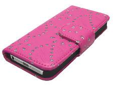 KLAPP ETUI FÜR Samsung GALAXY S2 I9100 PINK FLIP HANDYTASCHE CASE 9100 Tasche